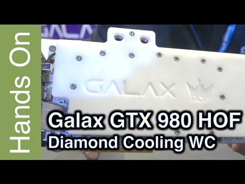 GTX 980 HOF WC – First prototype – Diamond cooling