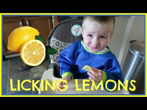 LICKING LEMONS!