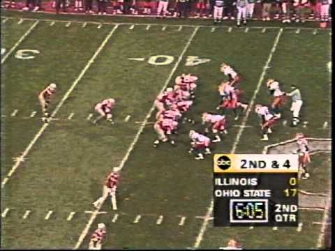 Eddie George's record day (36 carries, 314 yards, 3 TDs) - Illinois 1995