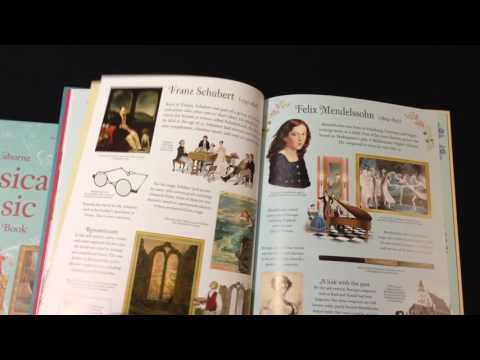 Usborne Classical Music Reference Book & Usborne Famous Composers Reference Book