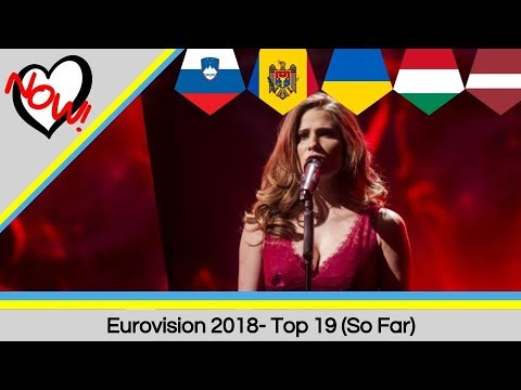 Eurovision 2018: Top 19 (So Far)- With Honest Comments