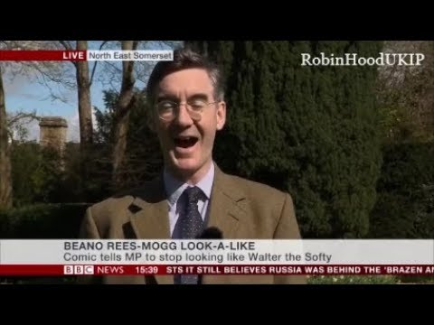 Jacob Rees Mogg is a jolly good sport