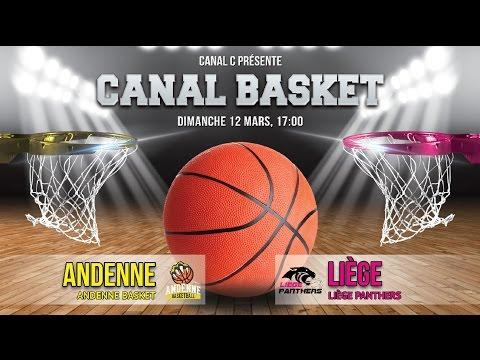 Andenne Basket vs Liège Panthers