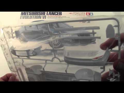 Tamiya 1/24 Mitsubishi Lancer Evolution VI # 24213 wwws.co.uk