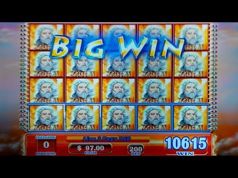 JACKPOT HANDPAY! Zeus II Slot - JAW-DROPPING, YES!