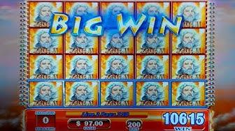 JACKPOT HANDPAY! Zeus II Slot - JAW-DROPPING, YES!