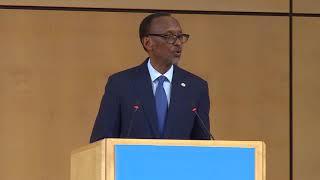 President Kagame speaks at the 71st World Health Assembly | Geneva, 21 May 2018