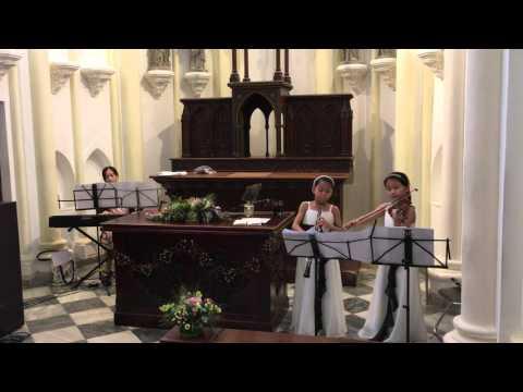 Moon River violin duet
