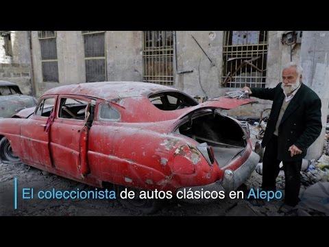 El coleccionista de autos clásicos de Alepo
