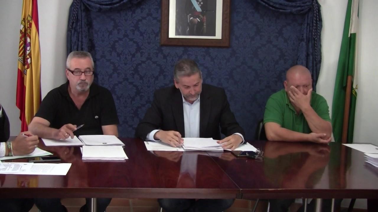 Pleno Montejaque Octubre 2016