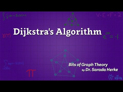 Graph Theory: 21. Dijkstra's Algorithm