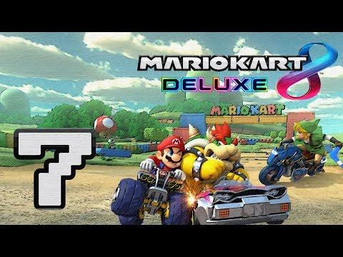 Mario Kart 8: Deluxe Gameplay Walkthrough HD - 50cc: Special Cup Grand Prix - Part 7