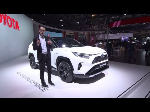 The All-New  Toyota RAV Hybrid | Toyota Ireland