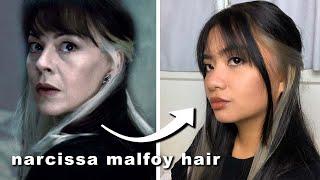 bleaching and dying my hair to silver (narcissa malfoy inspired hair) *hi brad mondo*