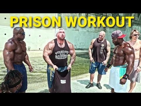 PRISON YARD WORKOUT GET BIG WITH NO WEIGHTS | KALI MUSCLE | NDO CHAMP | BIG BOY