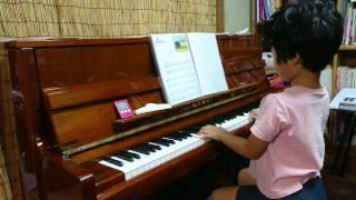 みーちゃん、小学1年生。 ピアノ歴は11か月目。 サウンドツリー3Aか...