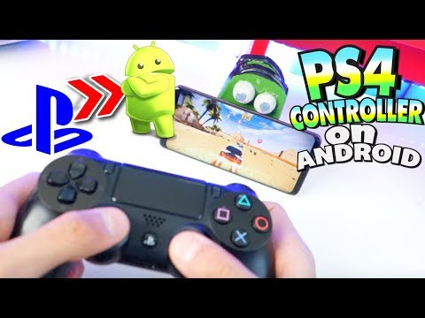 How To Play Android Games With PS4 CONTROLLER -  2018 (NO ROOT) ANY Android Phone/Tablet