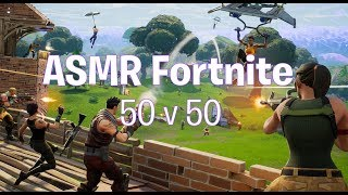 ASMR Gaming: Fortnite Ep. 5 (Gum Chewing) [Live Commentary]