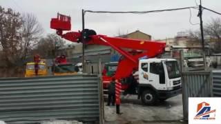 видео Аренда автовышки 45 метров