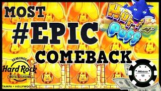 🔒HIGH LIMIT Lock Iт Link Huff N' Puff JACKPOT HANDPAY 🔒$50 BONUS ROUND Slot Machine EPIC COMEBACK