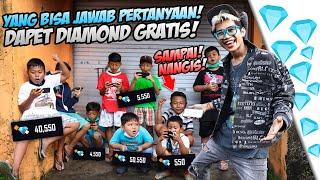 Download KASI DIAMOND KE BOCIL GAK KENAL DIJALANAN SECARA GRATIS! GABERHENTI NANGIS DIA PERTAMAKALI TOP UP!!!