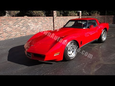 1980 corvette for sale old town automobile in maryland youtube. Black Bedroom Furniture Sets. Home Design Ideas