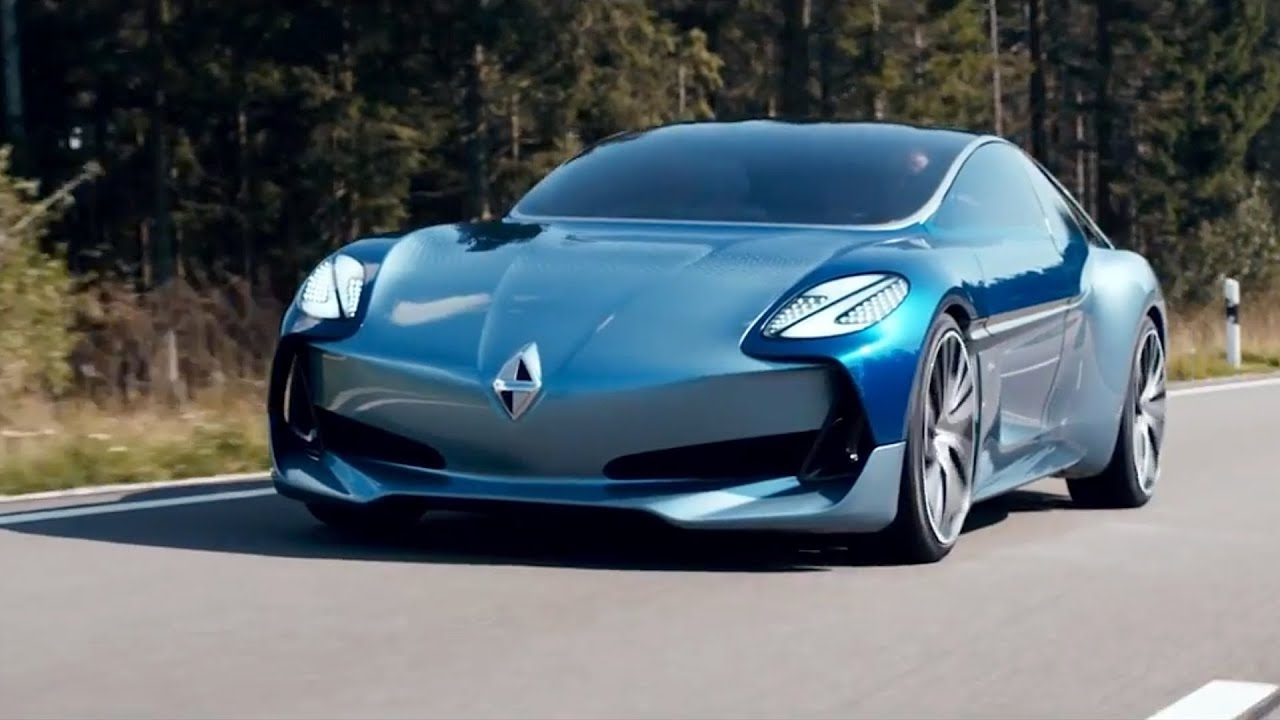 300 Hp Cars >> Borgward Isabella Concept - IAA 2017 - YouTube