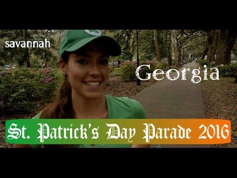 Savannah, Georgia ~ St. Patrick's Day Parade 2016 ~ Super Scary Bridges