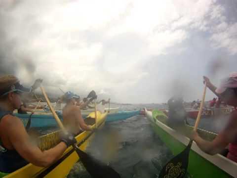 double hull queen liliuokalani outrigger canoe race 2012