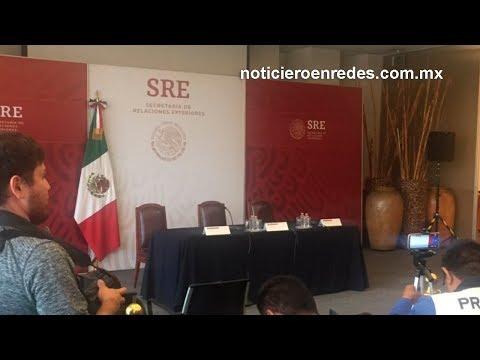 #EnVivo Conferencia del secretario de Relaciones Exteriores México Marcelo Ebrard desde Washington