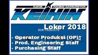 Loker PT.KEIHIN Indonesia Februari 2018