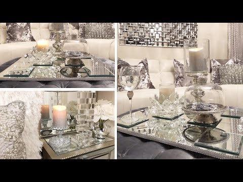 DIY Mirrored Tray | Dollar Tree DIY Glam & Mirror Decor