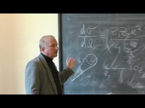 Широков Е. В. - Физика ядра и частиц - Формула Резерфорда. Радиоактивный распад