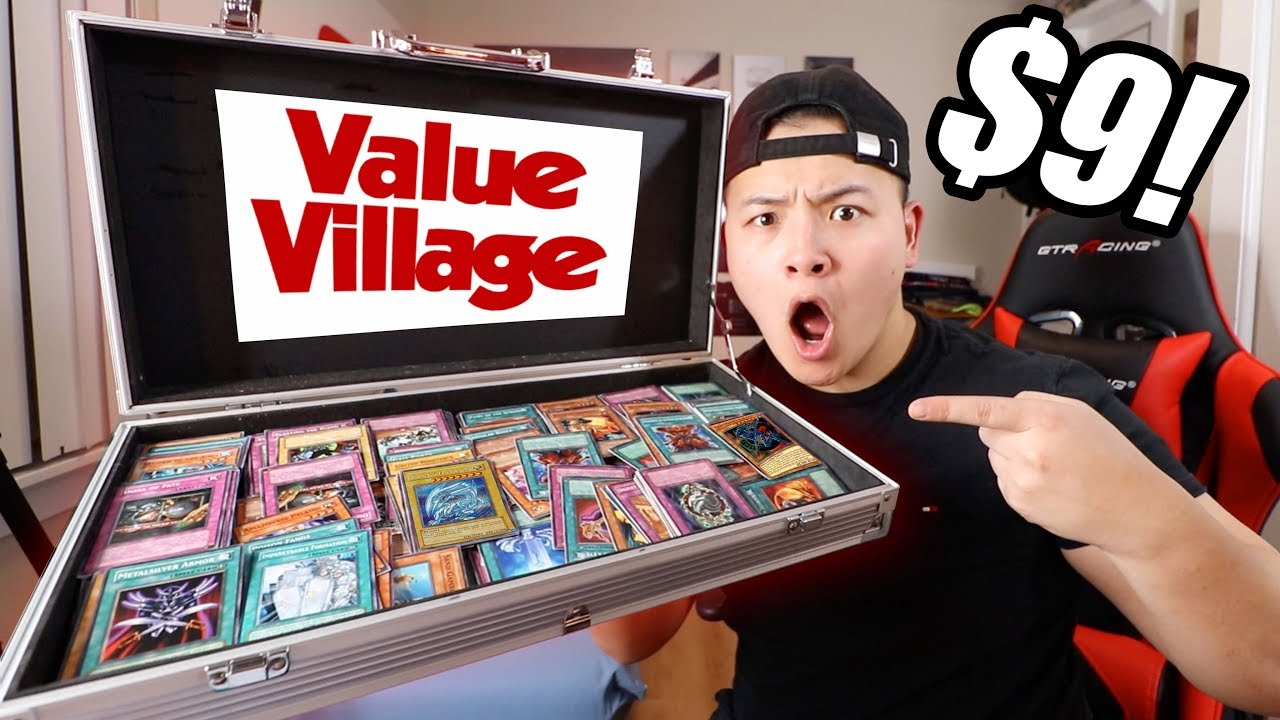 Download I SPENT $9 ON VALUE VILLAGE YU-GI-OH! CARDS (Kaiba Briefcase)
