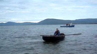 Rowing the Currach