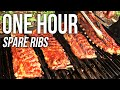 One Hour Spare Ribs by the BBQ Pit Boys