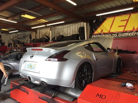 STOCK 370Z DYNO NUMBERS