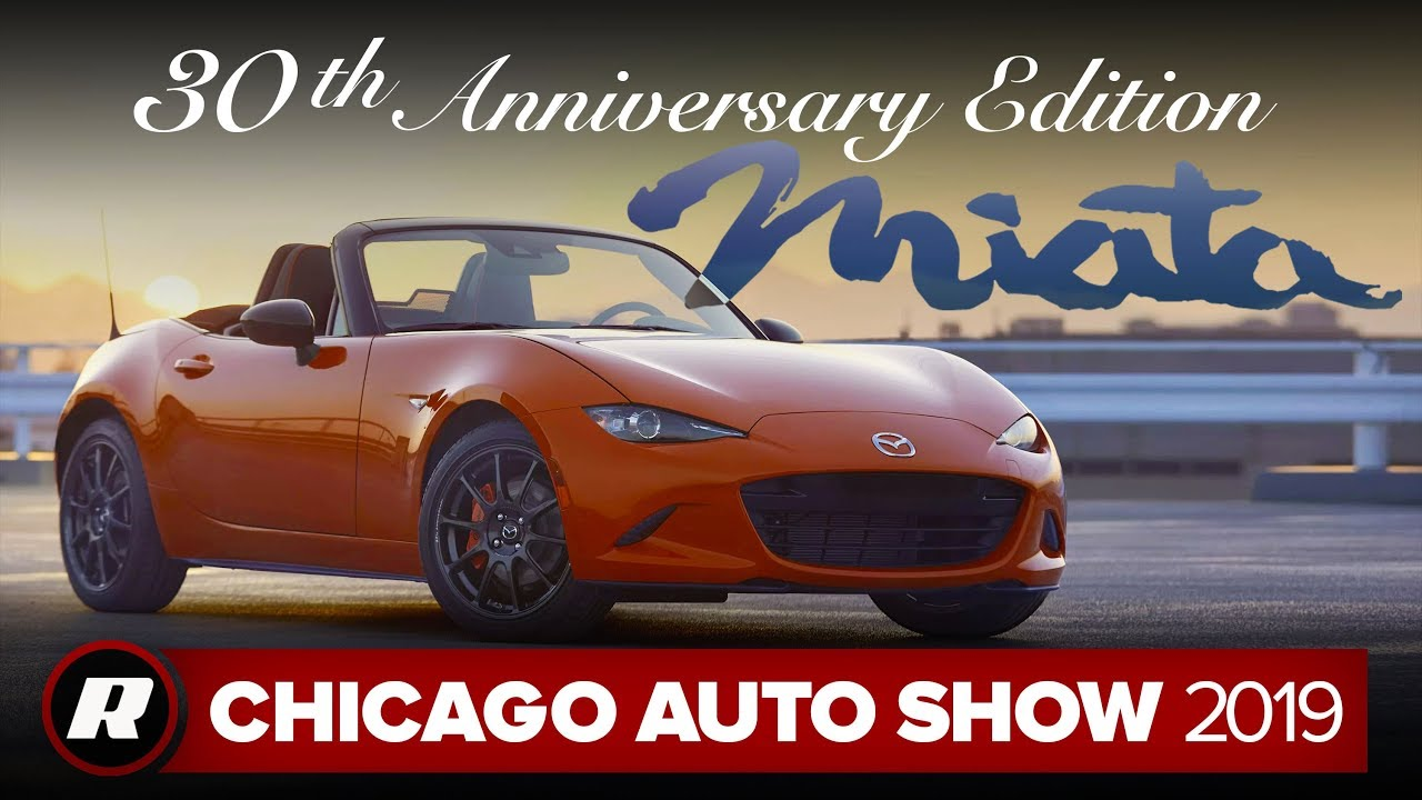 2019 Mazda MX-5 Miata 30th Anniversary Edition is a bright celebration | Chicago 2019