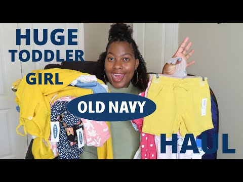 HUGE TODDLER GIRL OLD NAVY HAUL