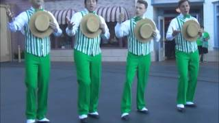 Dapper Dans Sing Happy Birthday Disneyland! (St. Patrick's Day, 2016)