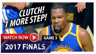 Kevin Durant Full Game 3 Highlights vs Cavaliers 2017 Finals - 31 Pts, 8 Reb, CLUTCH!