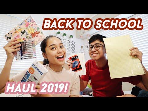 BACK TO SCHOOL Shopping + Haul 2019!!! | ThatsBella