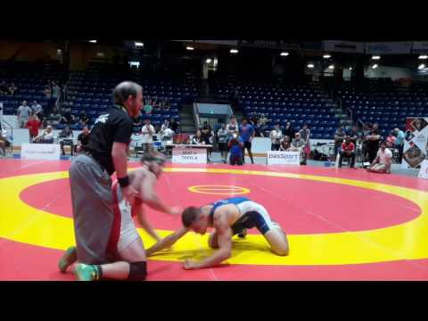 2016 Canada Cup: 65 kg Michael Asselstine (CAN) vs. Xander Chaves (CAN)