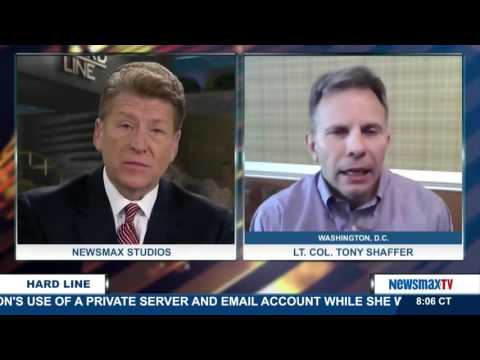 The Hard Line | Lt. Col. Tony Shaffer on Hillary Clinton testifying before the Benghazi committee