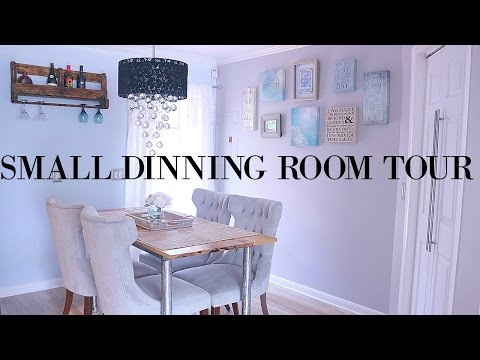 Small Dinning Room Tour | Simple & Clean