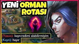YENİ EFSANE ORMAN ROTASI | İLK W MAX KAYN | BU GÜCÜ HİSSET !!
