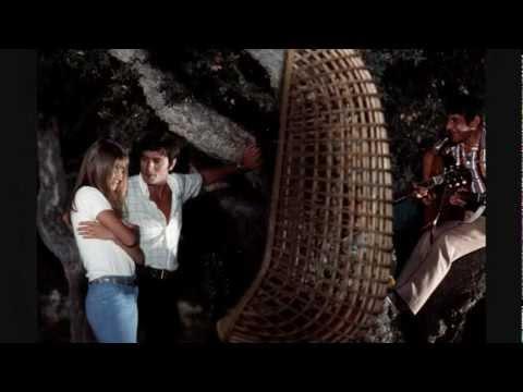 Alain Delon music Joe Dassin Et lamour sen va