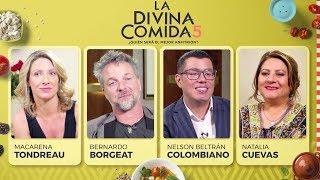 La Divina Comida - Macarena Tondreau, Bernardo Borgeat, Natalia Cuevas y El Colombiano