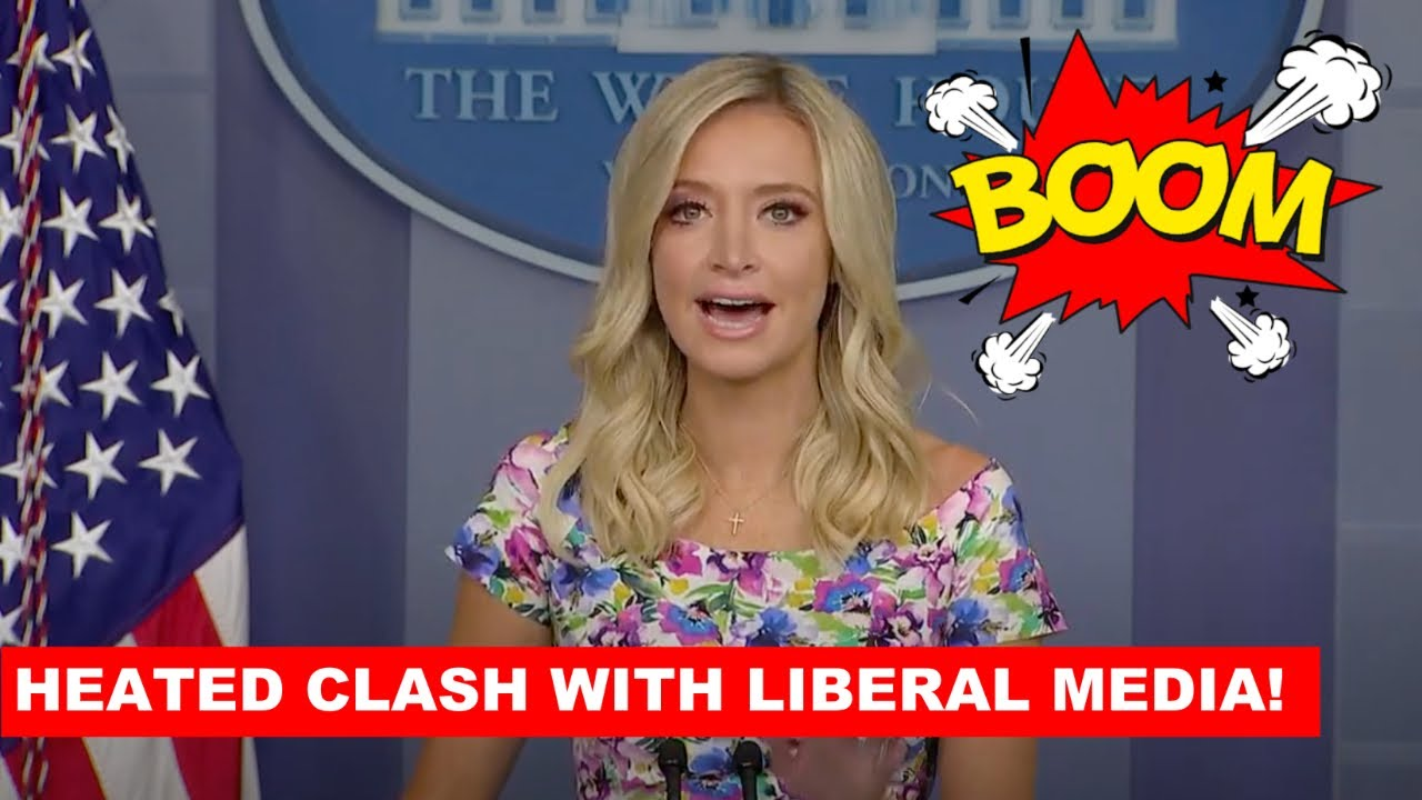 BLISTERING EXCHANGE: Press Secretary McEnany SHUTS DOWN The Liberal Media at Press Briefing