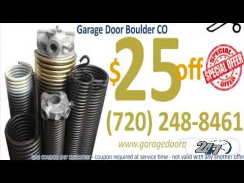 Garage Door Boulder CO (720) 248 8461